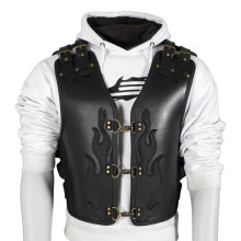 Sweep Bulletproof leather vest