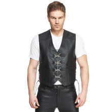 Sweep Smoker leather vest