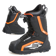 Sweep Snowcore EVO R snowmobile boot, back/orange