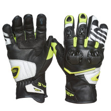 Sweep Forza gloves, black/white/yellow