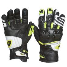 Sweep Forza gloves, black/white/yellow