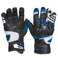 Sweep Forza gloves, black/white/blue