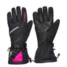 Sweep Snow Queen 2.0 ladies snowmobile glove, black/pink