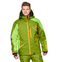 Sweep Scout snowmobile touring jacket, green/green