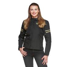 Sweep Amelia waterproof ladies mc jacket, black/beige