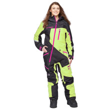 Sweep Snow Queen 2 Snow mobile suit, insulated, black/yellow/pink