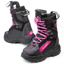 Sweep Yeti ladies snowmobile boot, black/pink