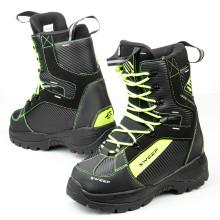Sweep Yeti snowmobile boot, black/yellow