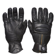 Sweep Union leather glove, black