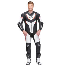Sweep GPR Aero piece leathersuit, black/white/red