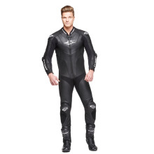 Sweep GPR Aero piece leathersuit, black/white