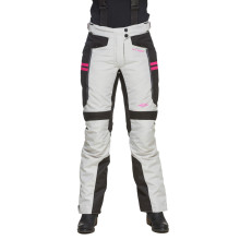 Sweep Janet waterproof ladies mc pant, ivory/black/pink