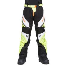 Sweep Racing Division 2.0 snowmobile pant, black/white/yellow/orange