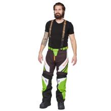 Sweep Racing Division 2.0 snowmobile pant, green/white/black/orange