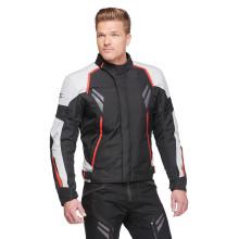 Sweep Wolverine 2, 4-season jacket, ivory/black/red