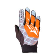 Sweep MX5 ohut mx ajokäsine, musta/oranssi