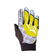 Sweep MX5 ohut mx ajokäsine, musta/keltainen