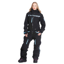 Sweep Gravity naisten kelkkahaalari, musta/vaal.sininen