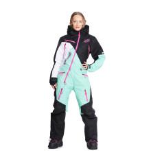 Sweep Snowcore Evo 3.0 Light naisten kelkkahaalari, musta/minttu/valkoinen