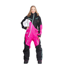 Sweep Snowcore Evo 3.0 vuorellinen naisten kelkkahaalari, musta/pinkki/valkoinen