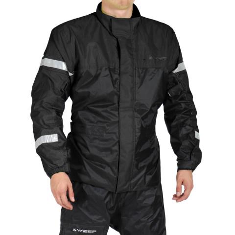 Sweep Monsoon 3 Rain jacket, black