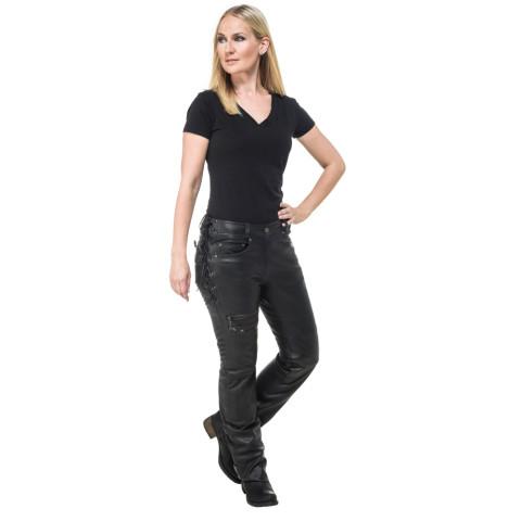 Sweep Bella ladies leather pant