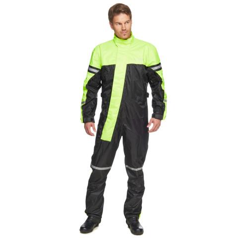 Sweep Typhoon 3 rain suit, black/yellow
