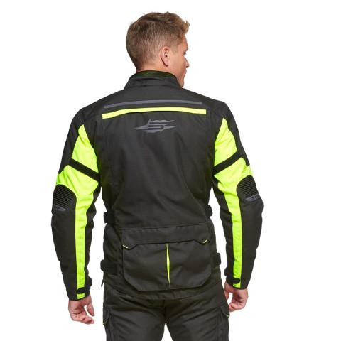 Sweep GPX 4-season jacket, black/yellow