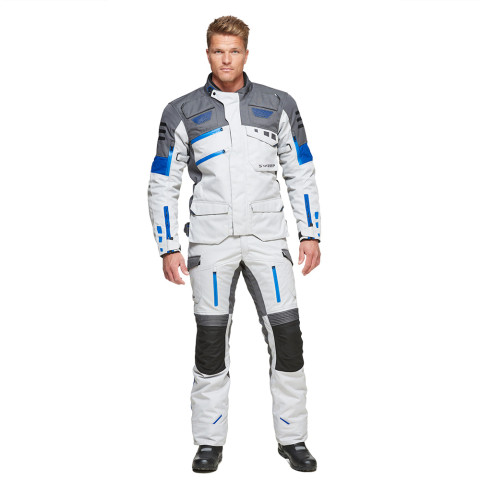 Sweep GPX 4-season jacket, ivory/blue