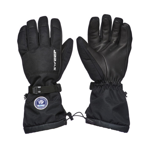 Sweep Arctic Expedition snowmobile glove, black