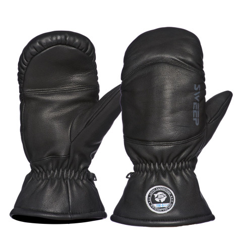Sweep Arctic Expedition snowmobile leather mittens