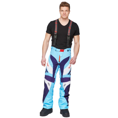 Sweep Racing Division 2.0 snowmobile pant, blue/light blue/white/red