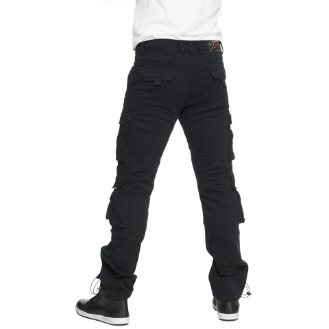 Sweep Black Jack aramid vahvisteinen cargo housu, korkea vyötärö