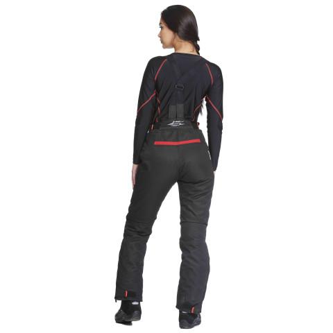 Sweep Charisma II naisten jokasään ajohousu, musta/puna
