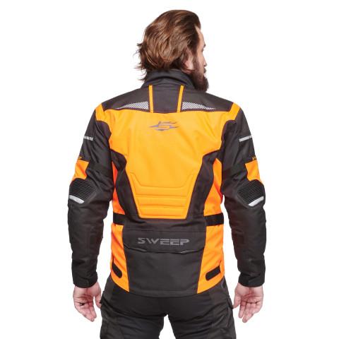 Sweep GT Adventure II ajotakki, musta/oranssi