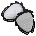 Sweep Dropper Knee slider, white, pair