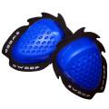 Sweep Dropper Knee slider, blue, pair