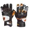 Sweep Forza gloves, black/white/orange