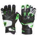 Sweep Forza gloves, black/white/green
