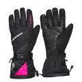 Sweep Snow Queen 2.0 ladies snowmobile glove, black/pink