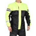 Sweep Monsoon 3 Rain jacket, black/yellow
