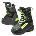 Sweep Yeti snowmobile boot, black/yellow