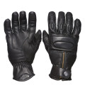 Sweep Union leather glove, black
