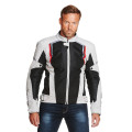 Sweep Mojave summer + waterproof mc jacket , black/ivory/red
